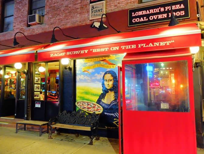 La migliore pizza a New York - Pizza da Lombardi's