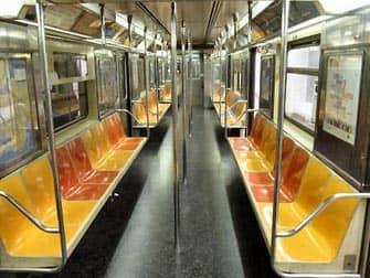 Metropolitana di New York posti a sedere