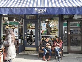 Murrays Bagels a New York