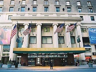 Pennsylvania Hotel in NYC - Facciata