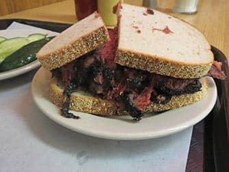 Pranzo a New York- Pastrami sandwich