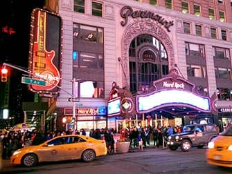 Ristoranti a tema a New York - Hard Rock Cafe