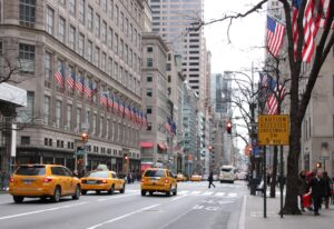 Sabato shopping 5th Avenue