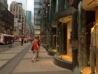 Shopping nell'Upper East Side in NYC - Vetrine