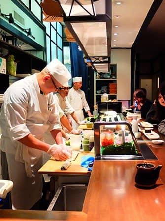 Sushi a New York - Takahachi