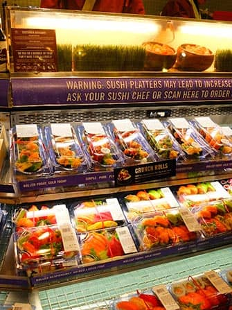 Sushi a New York - Whole Foods