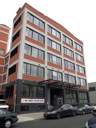 The Paper Factory Hotel in Long Island City New York