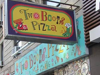 Two Boots Pizza a New York