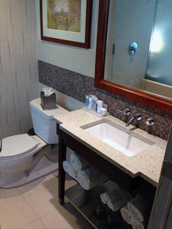 Wyndham Hotel in NYC - Bagno