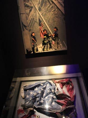 bandiera americana 911 museum new york