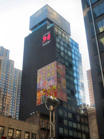 citizenM hotel a Times Square, New York City