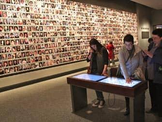 memorial wall 911 museum new york