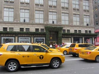 yellow cab sulle strade di New York