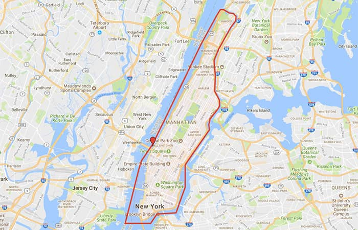 Circle Line Crociera Best of NYC - Itinerario