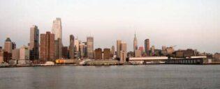 Giro in battello al tramonto, NY