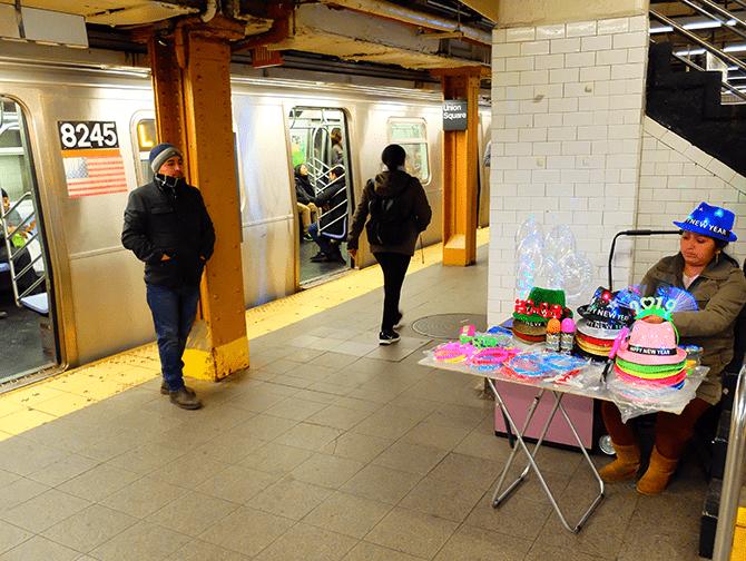 La metro di New York - Stazione della metro