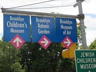 Brooklyn in NYC - segnali stradali