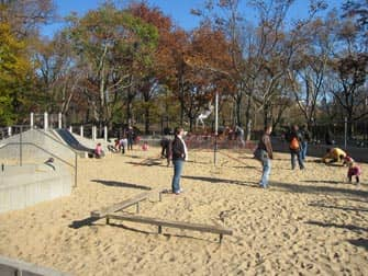 Central Park Playground in New York