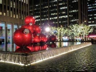 Decorazioni di Natale a New York