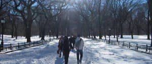 In Inverno a New York