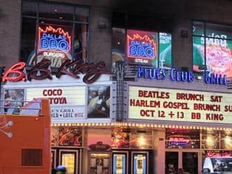 Jazz in New York BB King Blues Club