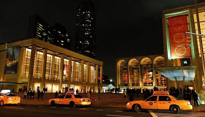 Lincoln Center a New York - Lincoln Center di sera