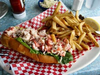Lobster roll a Boston Un giorno da New York