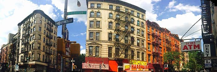 Lower East Side a New York - Veduta panoramica