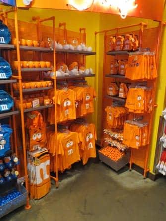 MM store merchandise