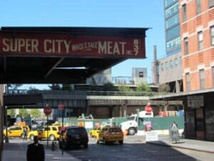 Meatpacking District a New York