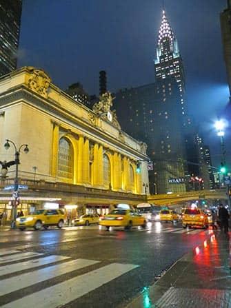 Midtown Manhattan a New York Grand Central e il Chrysler Building