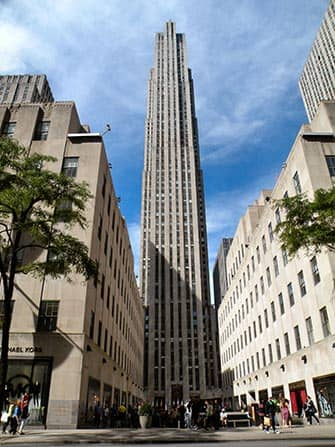 Midtown Manhattan a New York Rockefeller Center