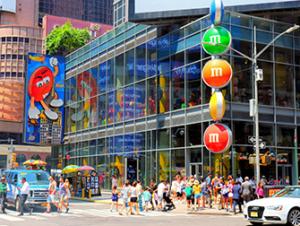 Negozio M&M a Times Square