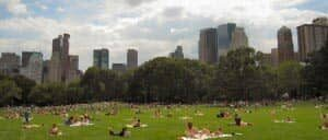New Yorkers a Central Park