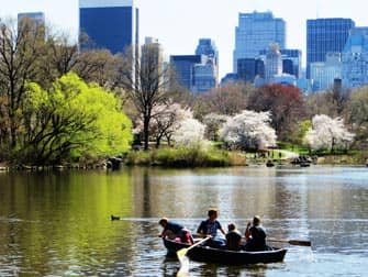 Parchi a New York- Barchette in Central Park