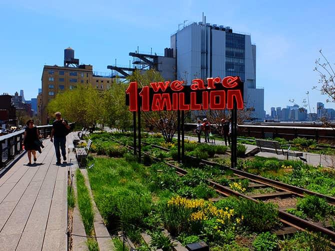 Parchi a New York - High Line Park