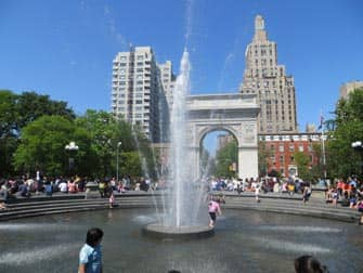 Parchi a New York - Washington Square Park