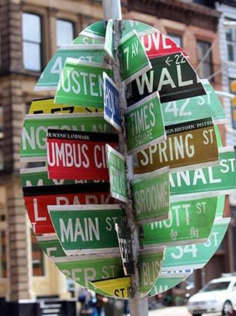 Simboli di Pasqua a New York