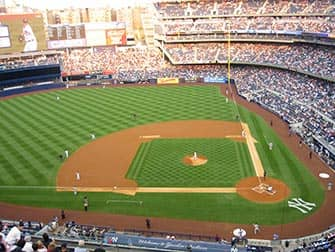 Il Bronx a NYC New York Yankees