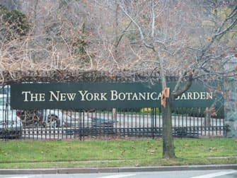 Il Bronx in NYC - New York Botanical Garden