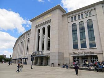 Il Bronx a NYC - Yankee Stadium