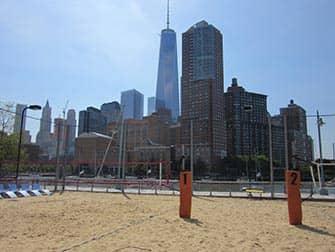 Tribeca a New York Pier 25 Beach Volley