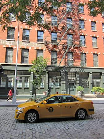 Tribeca in New York Taxi