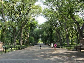 Upper East Side a New York Central Park