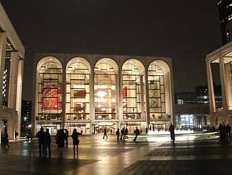 Upper West Side a New York Lincoln Center