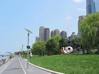 Upper West Side a New York Riverside Park