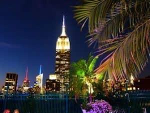 Vita notturna in Midtown New York