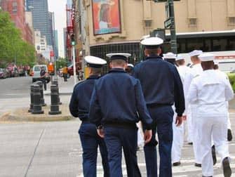 Fleet Week New York City in maggio