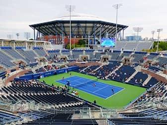 Biglietti US Open Tennis - Stadio Arthur Ashe visto da Grandstand