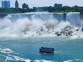Da New York alle Cascate del Niagara - Giro in battello